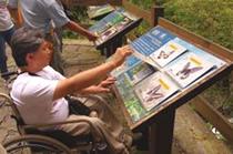 內洞森林遊樂區無障礙旅遊-林務局
